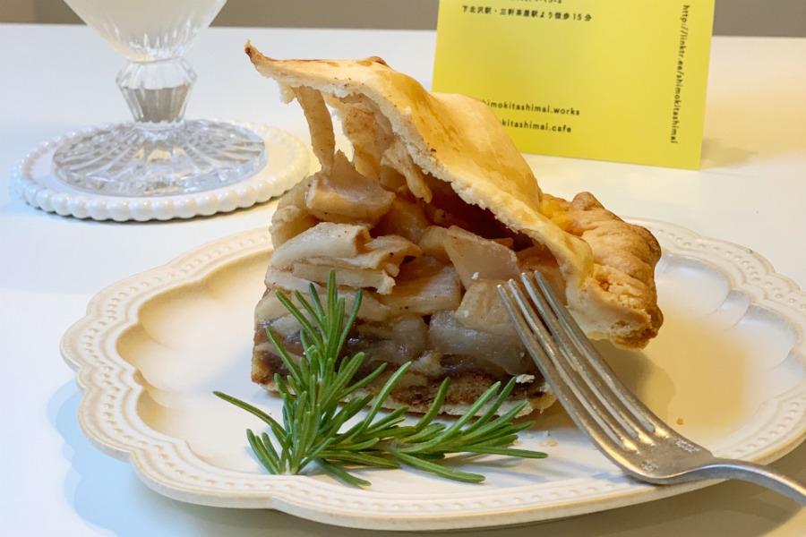 アップルパイ×ソーセージは絶妙にマッチ。料理研究家が営むカフェの人気メニュー