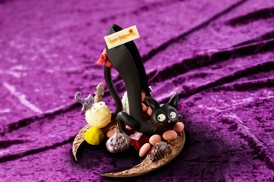 猫がハイヒールに変身! ハロウィン限定のキュートなチョコにLiLiCoも興奮