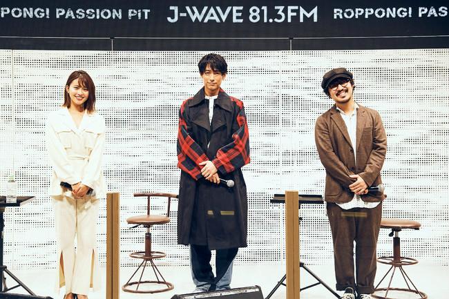 DEAN FUJIOKA、三原勇希の番組『ROPPONGI PASSION PIT』初の公開収録。THE CHARM PARKがトーク&ライブ