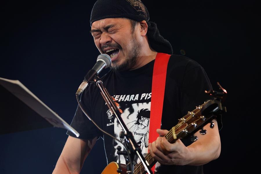 竹原ピストル、魂の叫びで観客を圧倒【「ギタージャンボリー2020」フォトレポート】