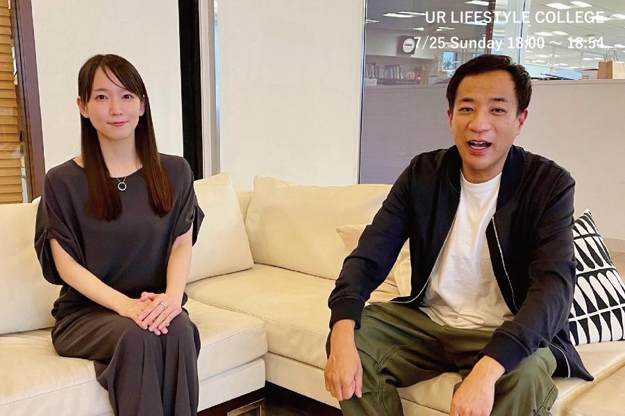 吉岡里帆とナイツ・塙 宣之が対談! 役者と芸人が舞台に上がるときの違いは?