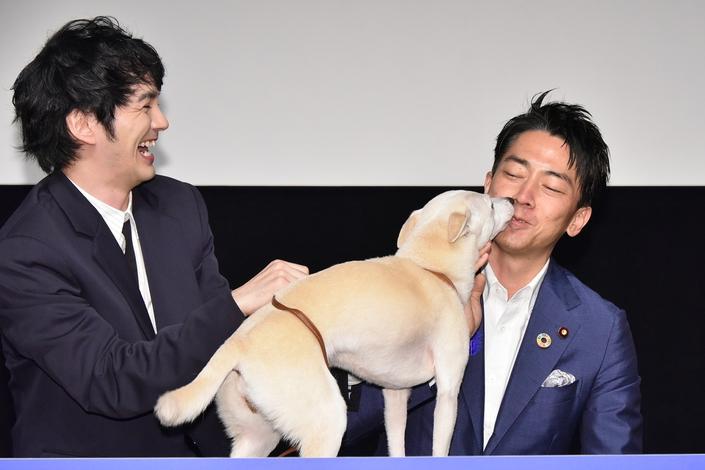林 遣都と犬は「会話」で親密に。保護犬を飼う小泉進次郎環境大臣も共感、そしてキスされる