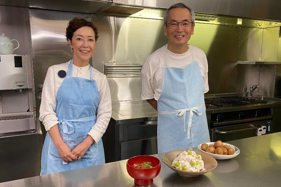 土井善晴×クリス智子が 「新米と楽しむ秋の食卓」をテーマに食の喜びを考える特別番組! 森山直太朗と秋の味覚トークも【9/20 18時~】