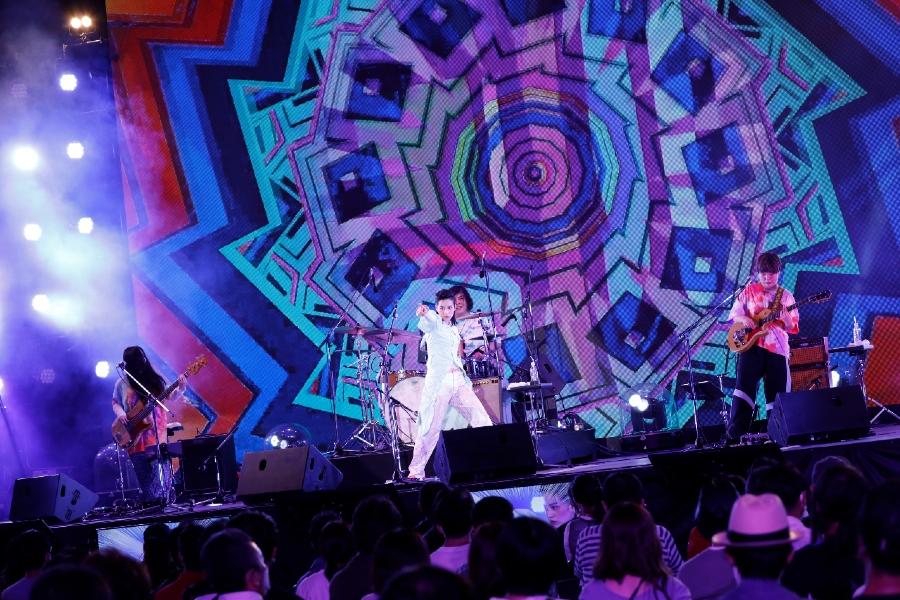 音楽×テクノロジーの祭典「イノフェス」初日レポ! アジカン、のん、ジャルジャルら出演