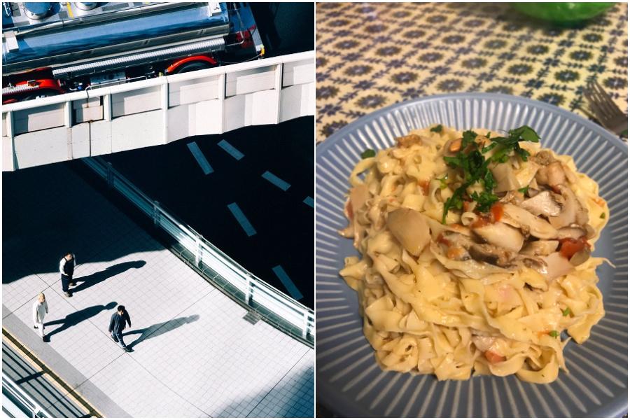 キノコとにんにくの味を活かす「タリアテッレ・フンギ」 Ryu MatsuyamaのRyuがレシピを紹介