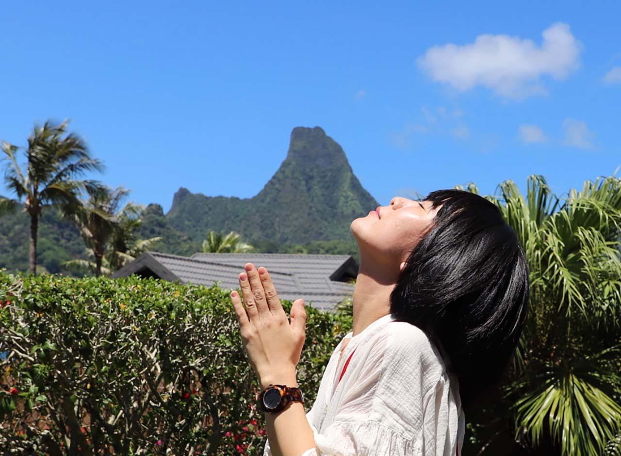橋本絵莉子(チャットモンチー済)が南太平洋に浮かぶ地上の楽園・タヒチ島を旅する。