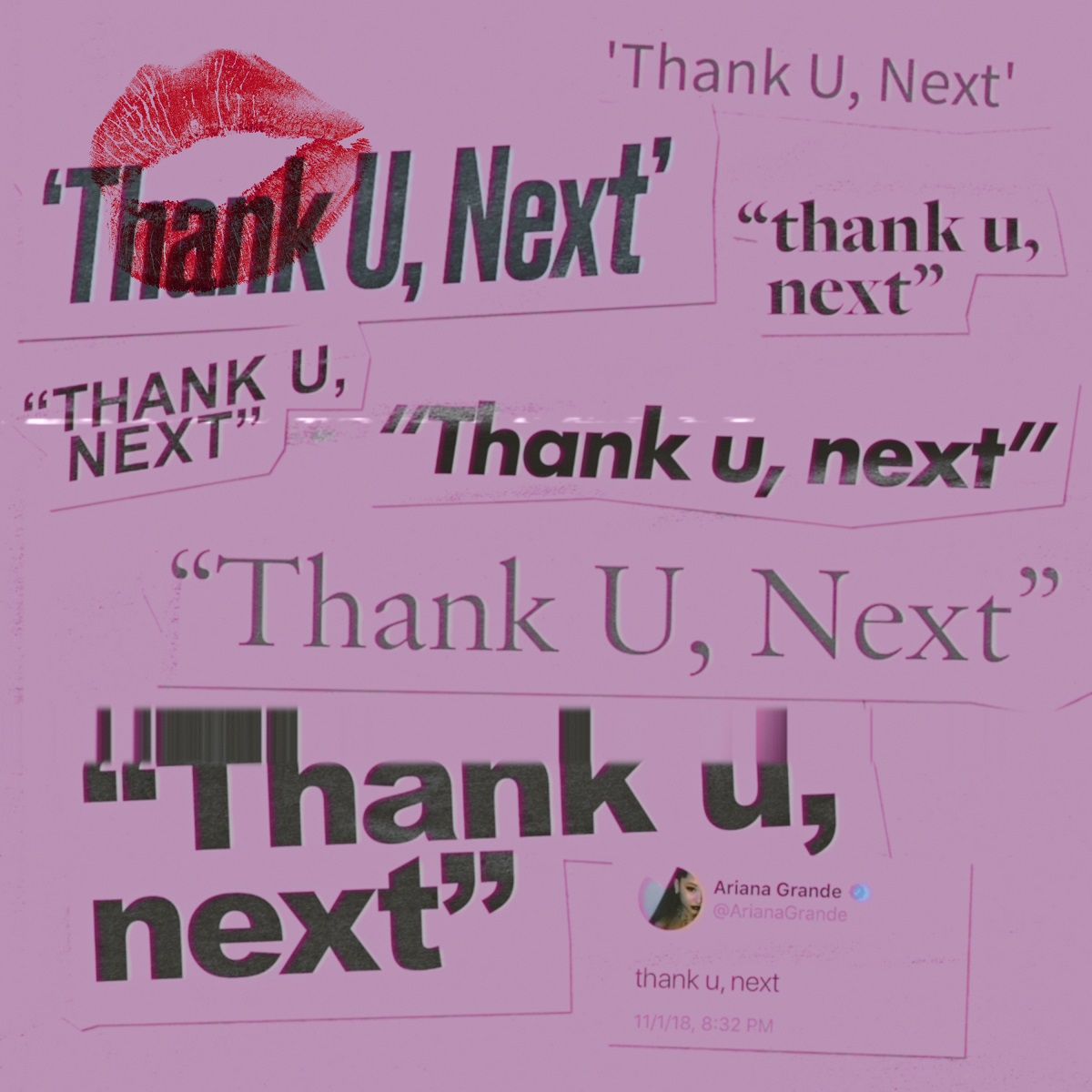 Ariana Grande『thank u, next』