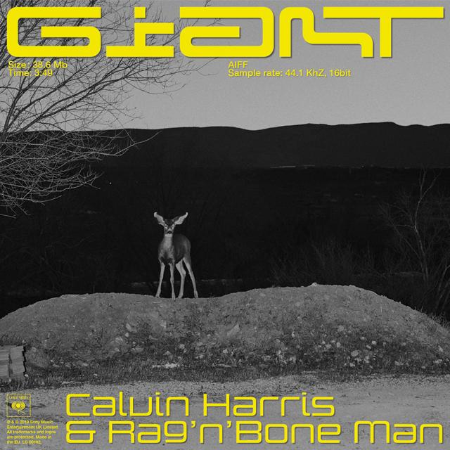 Calvin Harris, Rag'n'Bone Man『Giant』