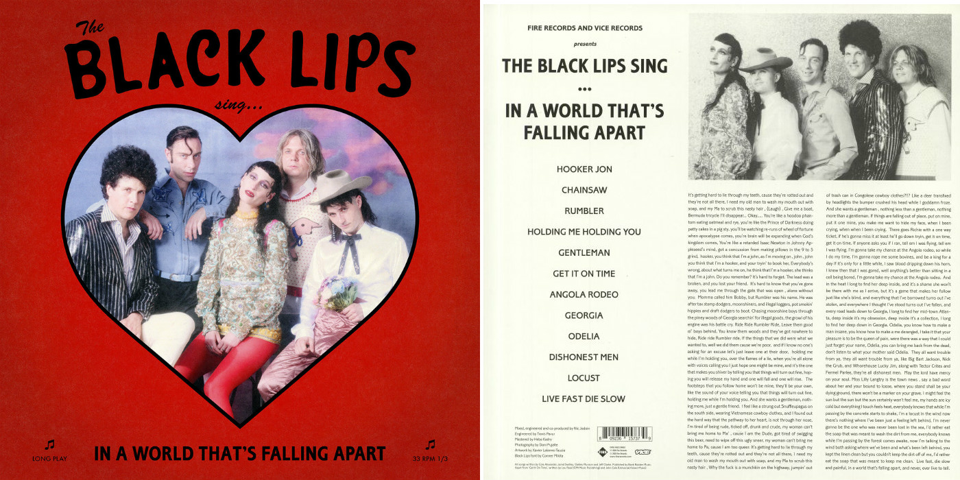 Black Lips『Sing In A World That's Falling Apart』