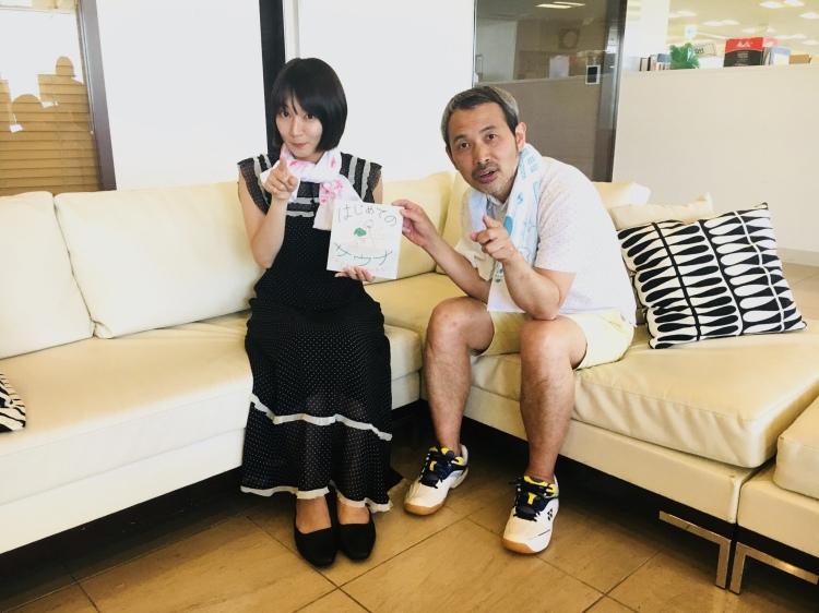 吉岡里帆とタナカカツキ