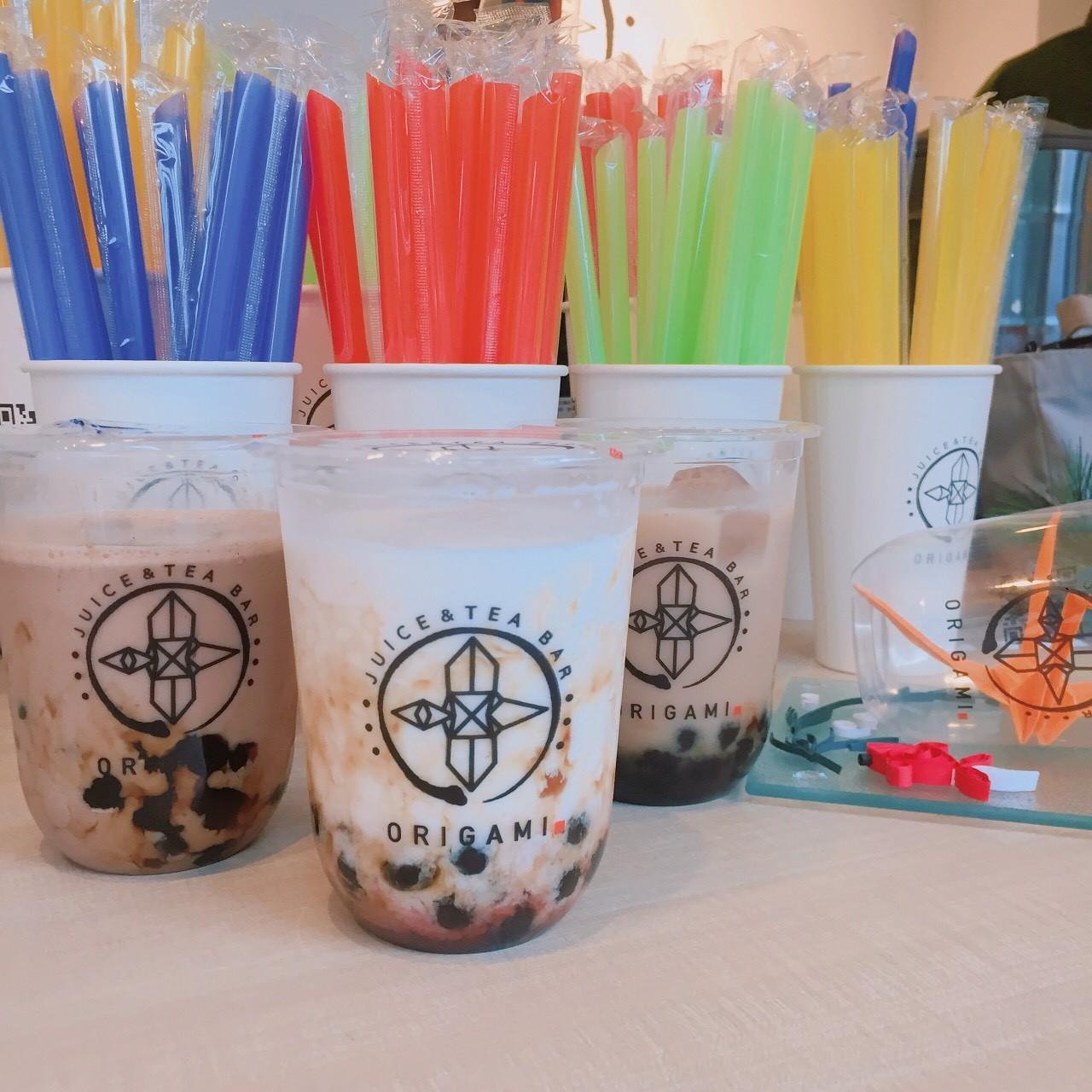 「juice&tea bar ORIGAMI」