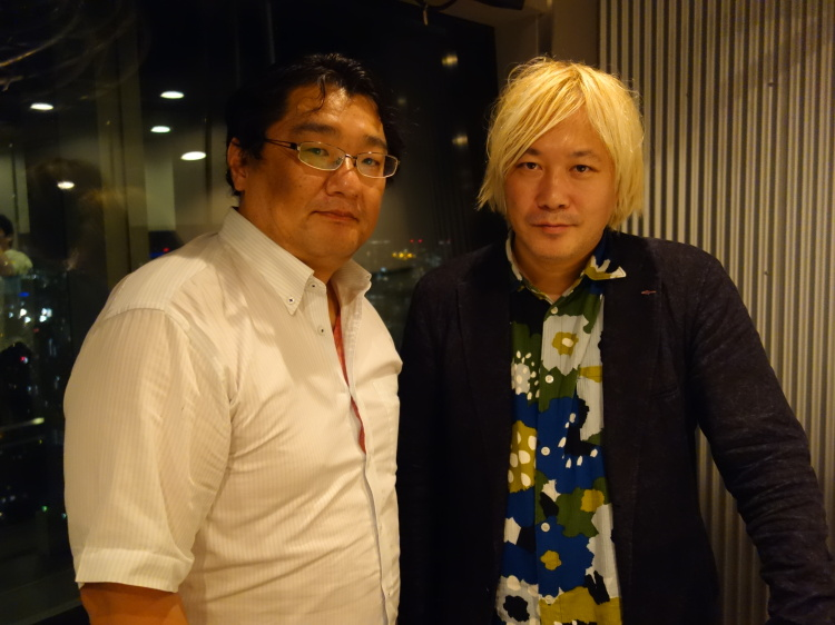 ジャーナリストの渋井哲也と、津田大介