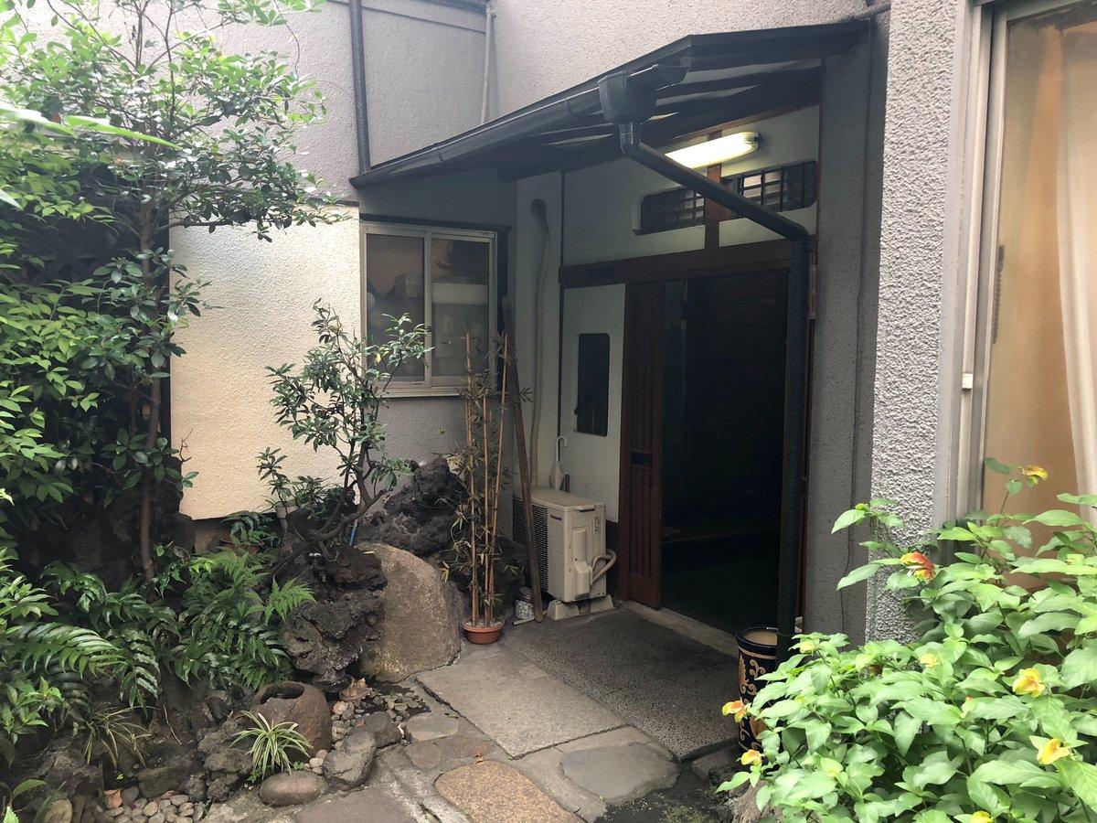 大正13年創業の老舗洋食店「洋食入舟」の外観