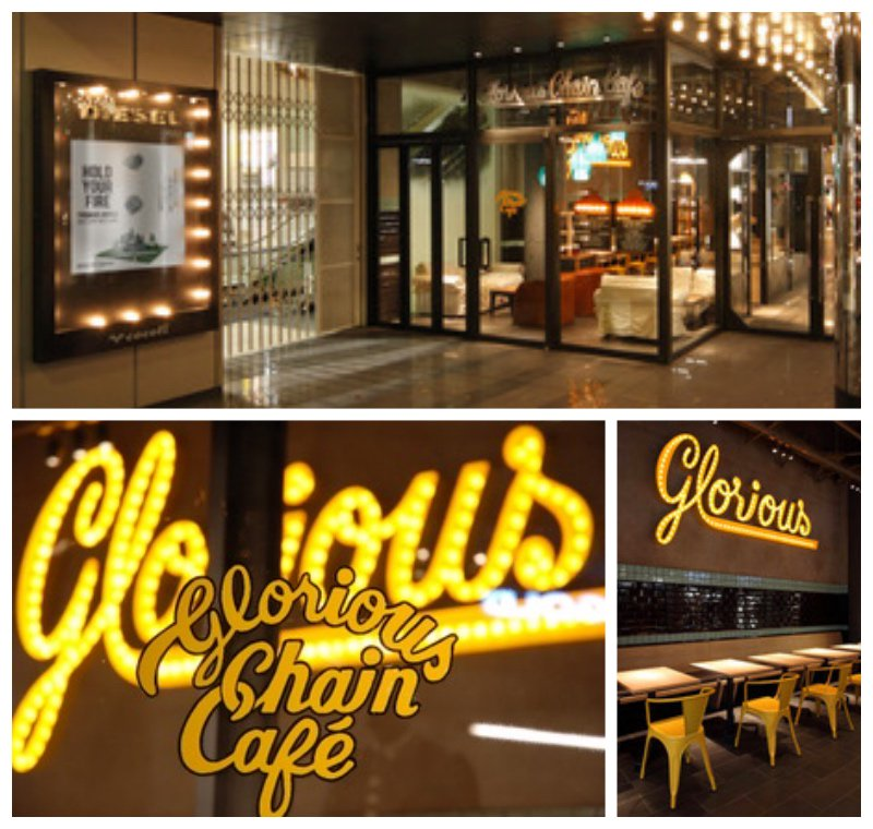 「Glorious Chain Cafe」