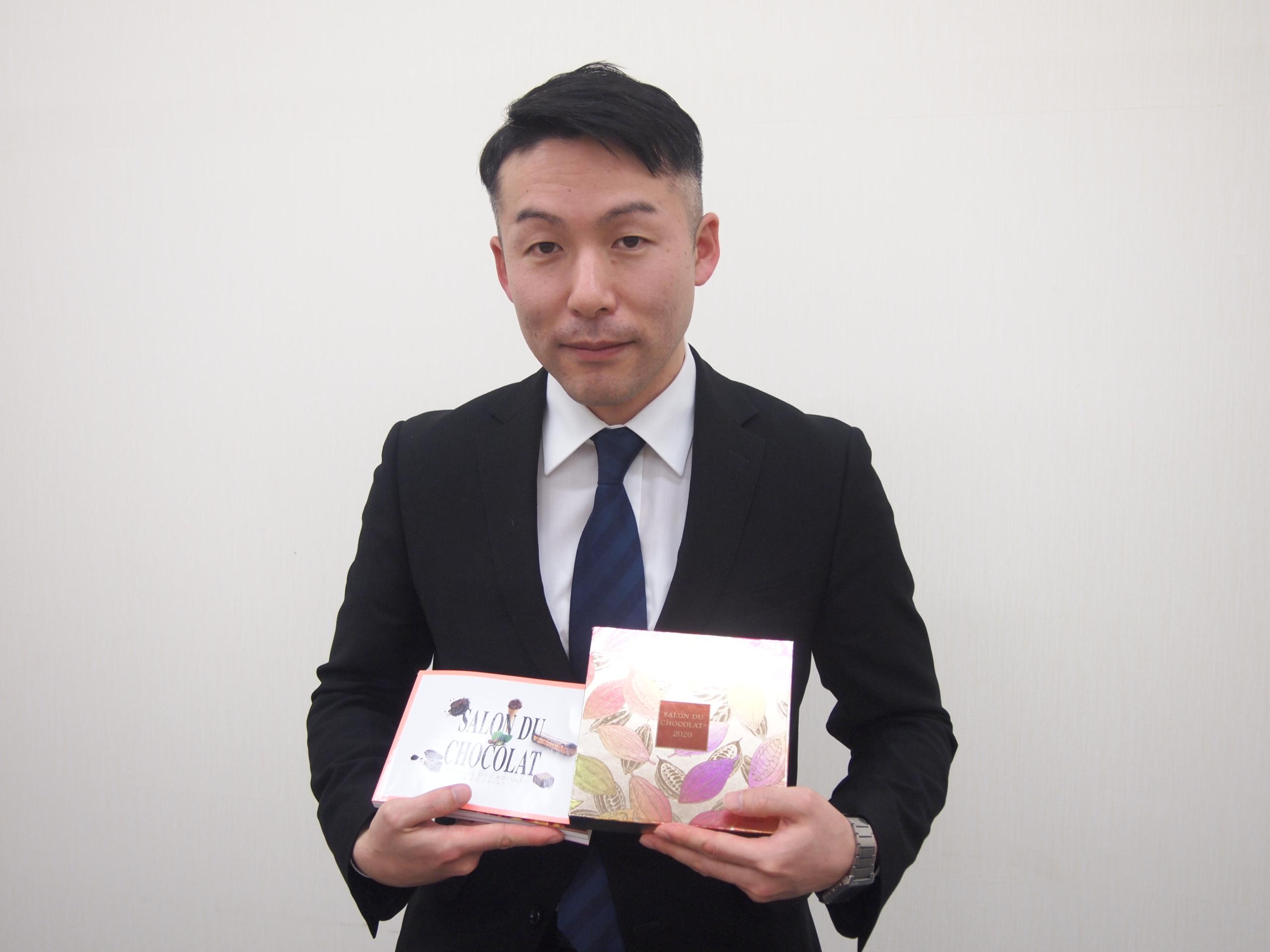 サロン・デュ・ショコラ担当バイヤーの真野重雄さん