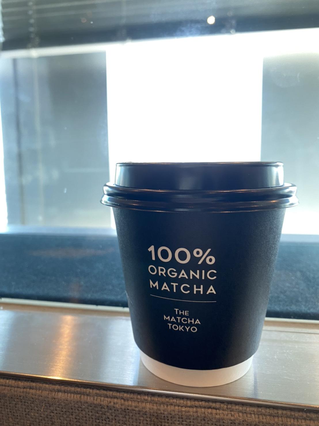 「THE MATCHA TOKYO」の抹茶ココナッツラテ