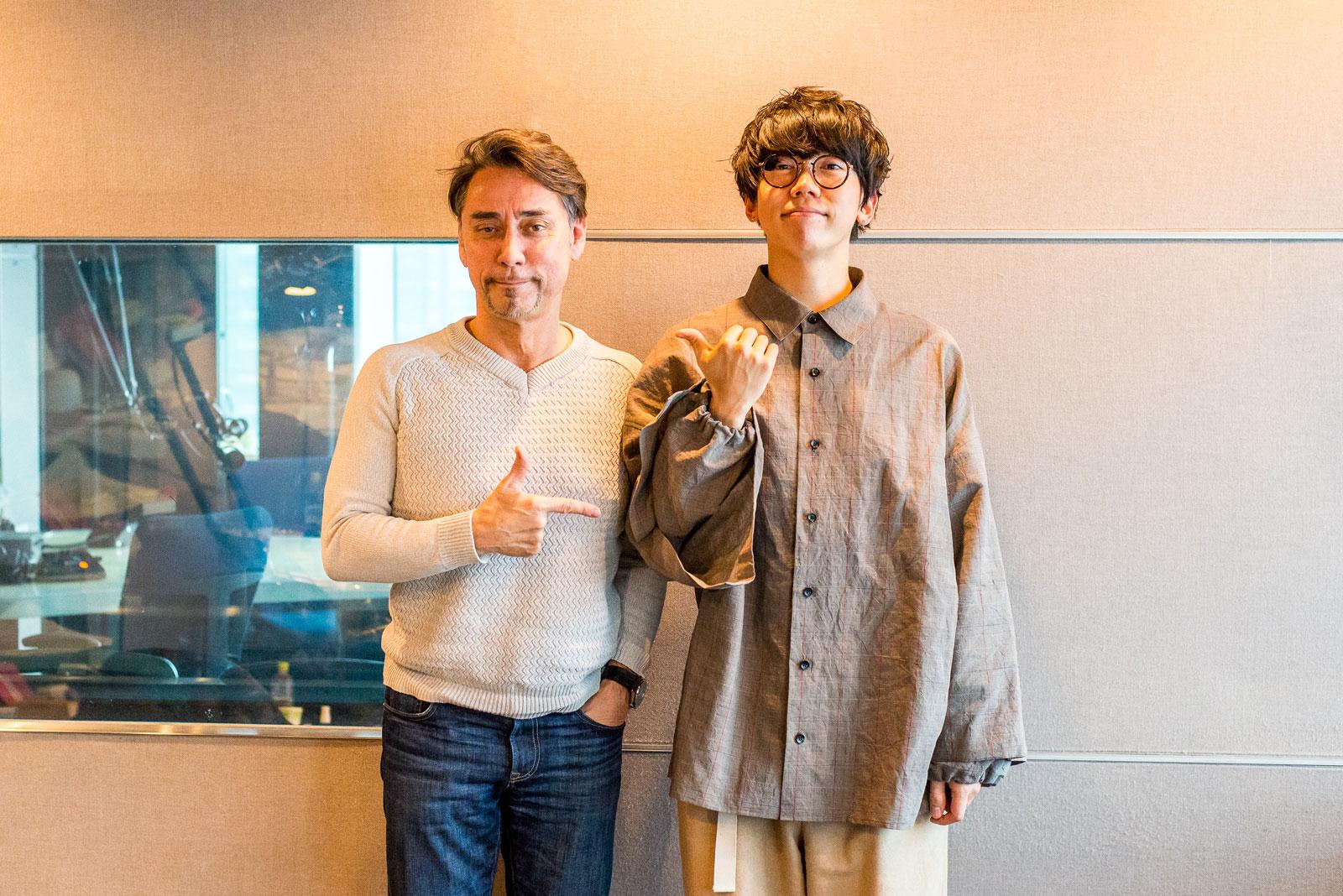 sumika・片岡健太とクリス・ペプラー