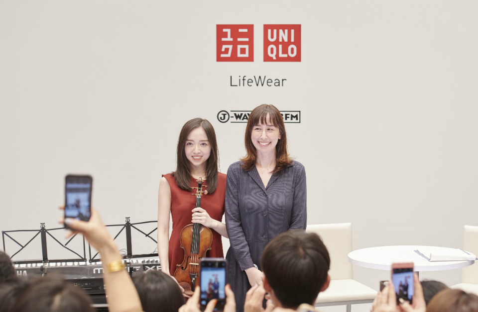 『J-WAVE HOLIDAY SPECIAL UNIQLO presents WEAR YOUR LIFE』