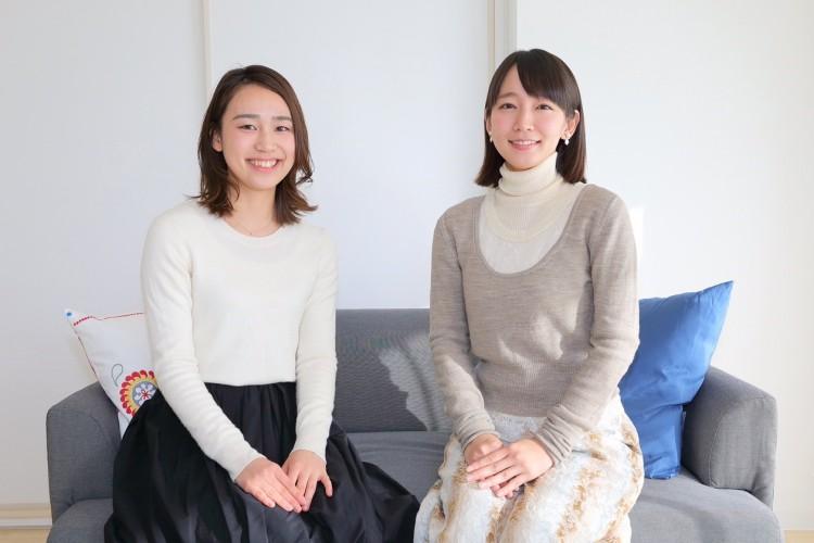 吉岡里帆と黒瀬智奈美さん